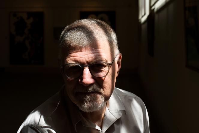 L'écrivain Deon Meyer, à Stellenbosch, en Afrique du Sud, le 23janvier 2020.