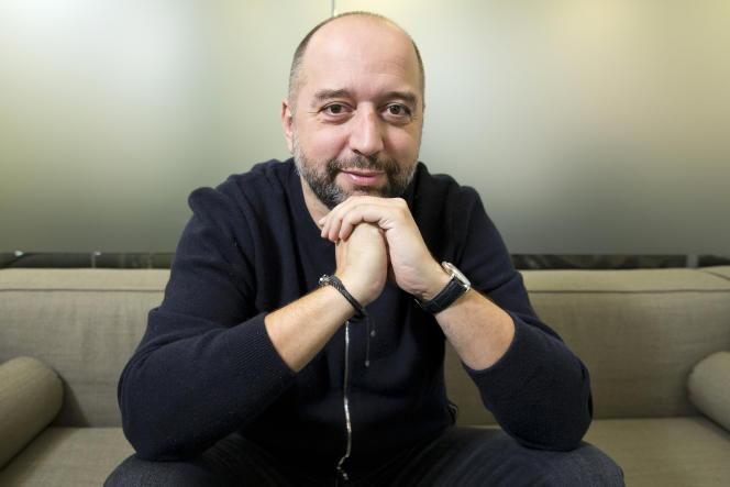 Le président du club de football de Lille, Gerard Lopez, à Londres le 11 décembre 2019.