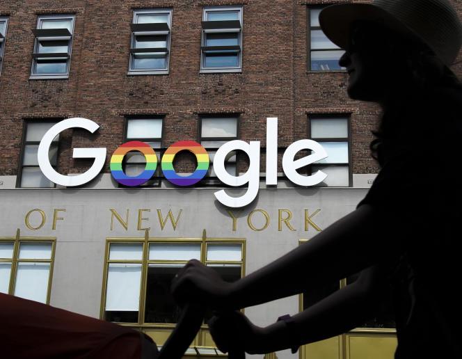 Les bureaux de Google à New York.
