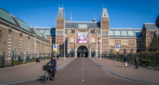 Le Rijksmuseum, à Amsterdam, le 26 mars 2020.