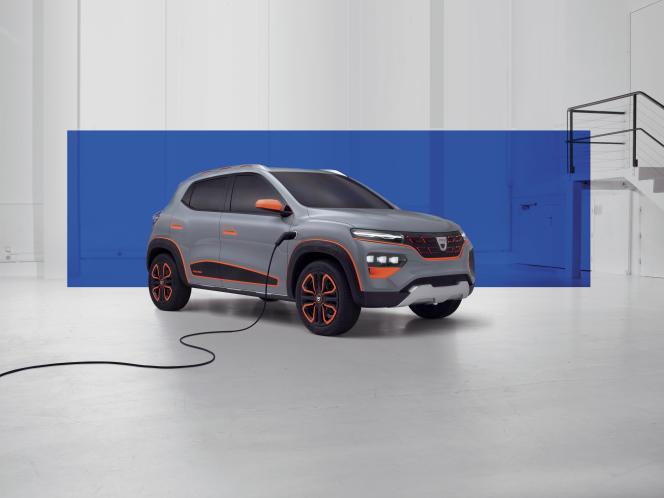 La Dacia Spring de Renault.