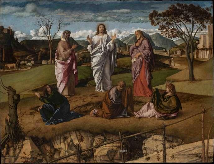 «La Transfiguration» de Giovanni Bellini.