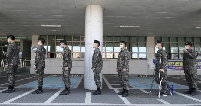 A Chuncheon, en Corée du Sud.