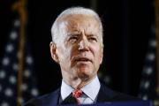 Joe Biden, le 12 mars 2020, à Wilmington, en Caroline du Nord.