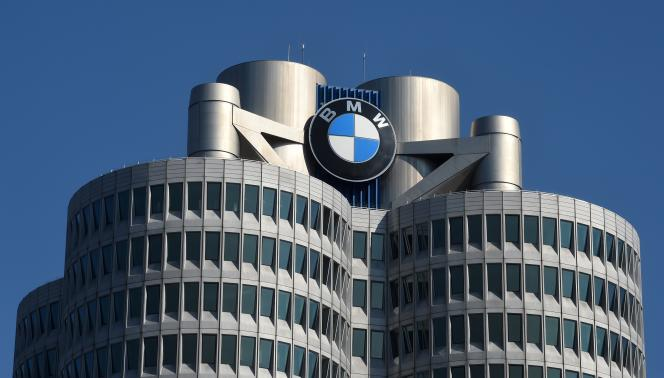 Le siège du constructeur automobile allemand BMW, à Munich, le 18 mars.
