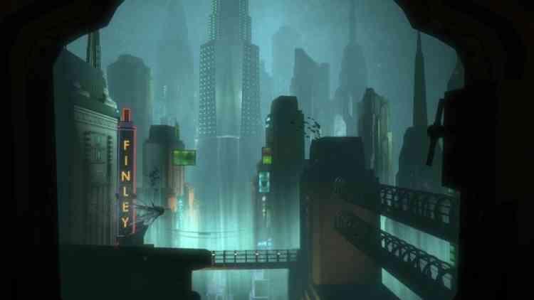 Rapture City, immortalisée par Léa dans «Bioshock».