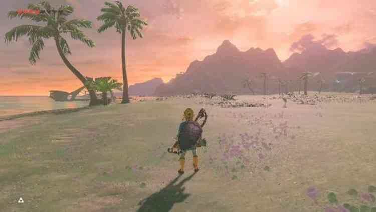 Aude nous envoieune carte postale du magnifique«The Legend of Zelda : Breath of the Wild«.«Ça serait dommage d'oublier ce fantastique jeu car il permet vraiment de s'évader et de voyager quand on se promène dans la belle et vaste Hyrule. C'est un jeu qui donne l'impression de partir en vacances. »