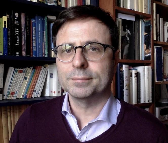 Laurent-Henri Vignaud,docteur en histoire et maître de conférences d'histoire moderne à l'Université de Bourgogne.