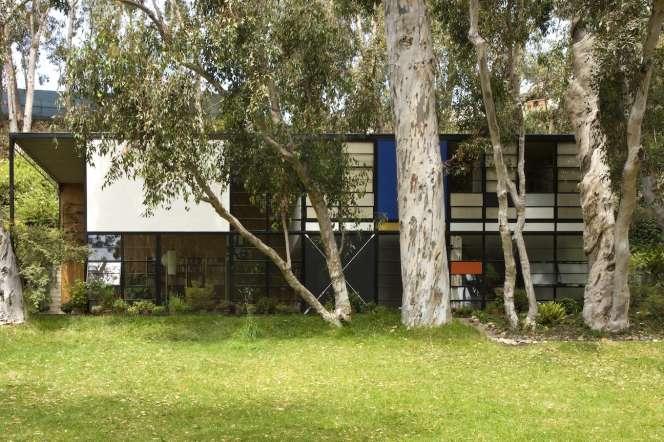 La maison des designers et architectes Charles et Ray Eames, àPacific Palisades, en Californie, est devenue le siège de la fondation Eames.