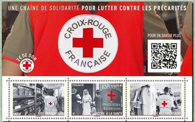 Bloc paru en novembre vendu 5,15 euros, dont 2 euros reversés au profit de la Croix-Rouge.