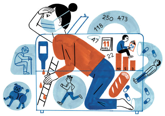 Dans ce« slow live», les lecteurs nous racontent leur quotidien en temps de confinement, des anecdotes les plus drôles aux réflexions les plus sombres.
