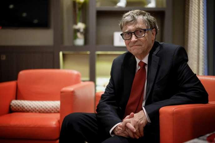 Bill Gates, le 9 octobre 2019 à Lyon.