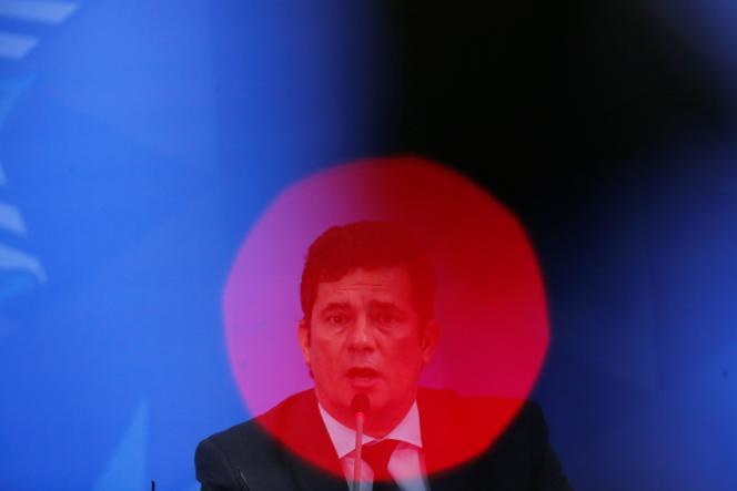 Sergio Moro, le 13 avril.