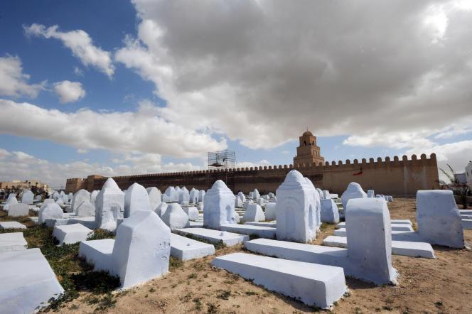 Le cimetière des Awlad Farhan, àKairouan, en Tunisie, en 2009.