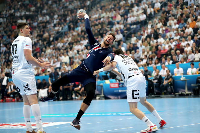 Avec le coup de sifflet final donné par la Ligue nationale de handball, le PSG est sacré champion de France de 1re Division.
