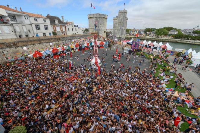 Les Francofolies, en 2019 à La Rochelle.