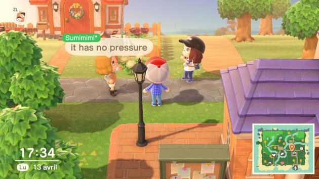 Les écoles de journalisme apprennent rarement à réaliser des interviews où les questions et les réponses font 24 signes maximum. C'est pourtant ce qu'on peut faire dans« Animal Crossing».