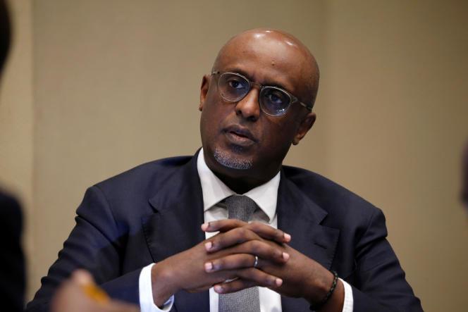 Le directeur Afrique du Fonds monétaire international, Abebe Aemro Selassie, à Abuja, au Nigeria, le 30avril 2019.