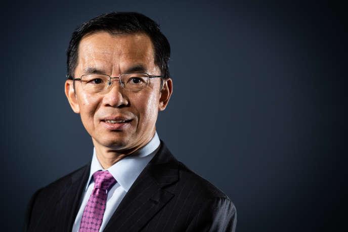 L'ambassadeur de Chine Lu Shaye, à Paris, le 10 septembre 2019.