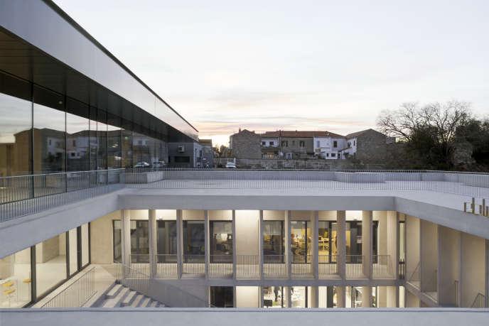 L'Ecole nationale supérieure de la photographie (ENSP) d'Arles, conçue par Marc Barani, le 25 février.