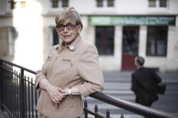 Danièle Hoffman-Rispal à Paris, le 14 mai 2012.