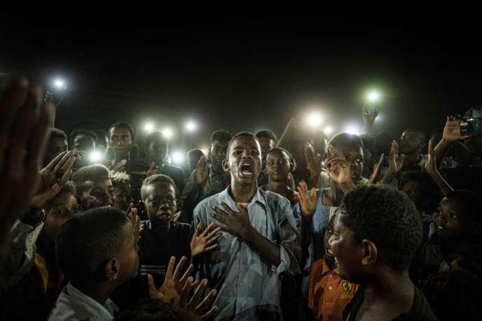 Le 19 juin 2019 à Khartoum au Soudan.