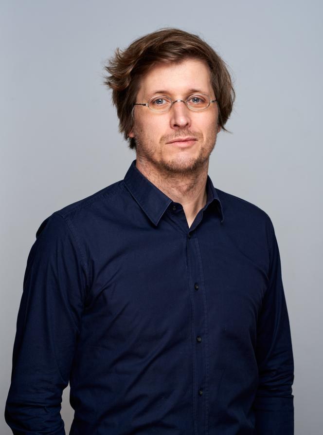 L'économiste allemand Moritz Schularick, à Bonn (Allemagne), en février.