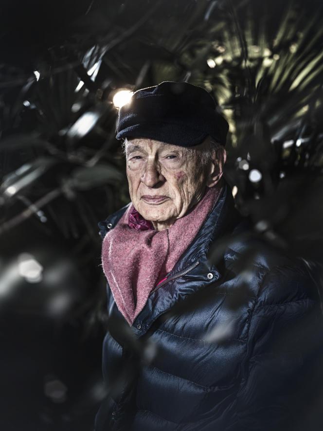 Edgar Morin, sociologue et philosophe, à Montpellier (Hérault), en janvier 2019.