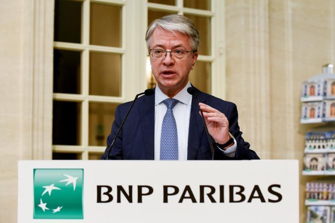Le directeur général de BNP Paribas, Jean-Laurent Bonnafé, à Paris, le 5 février.