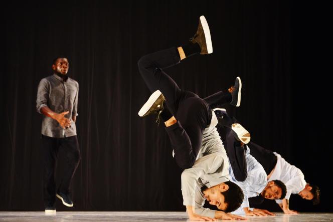 «Allegria», spectacle de Kader Attou.