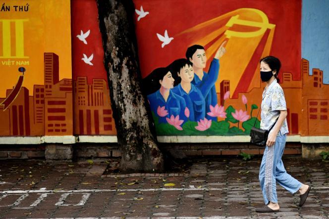 A Hanoi, le 8 avril.