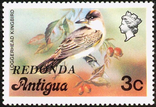 L'île de Redonda, inhabitée, a malgré tout« ses» timbres. Les premiers étaient des timbres d'Antigua surchargés« Redonda».