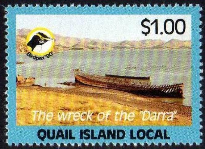 Vignette de la «poste locale» de Quail Island.
