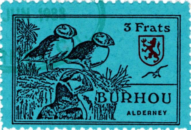 Burhou, dépendance d'Aurigny (îles de la Manche).