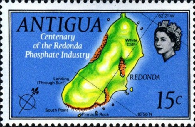 Redonda est une île déserte appartenant à Antigua.