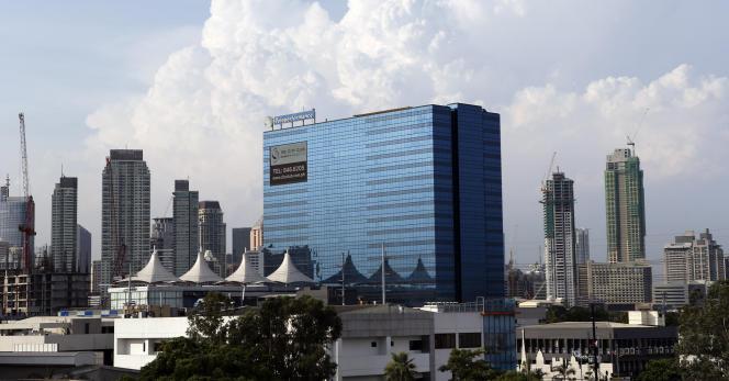 Des bureaux de Teleperformance, à Manille, aux Philippines, en 2013.