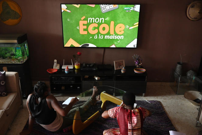 A Abidjan, le 9 avril 2020.