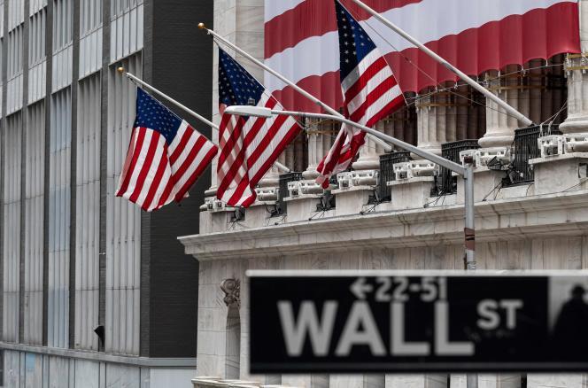 La Bourse de New York, le 20 avril.