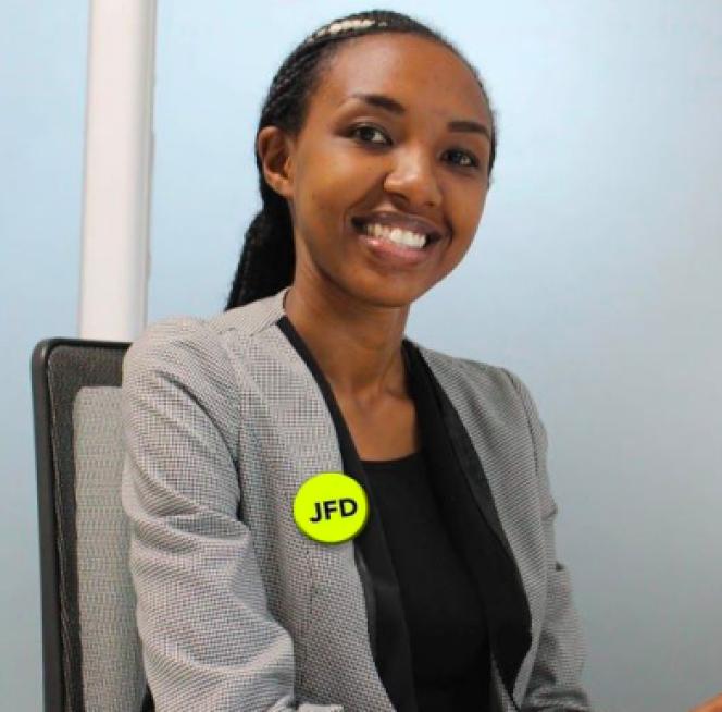 La Rwandaise Jacqueline Mukarukondo.