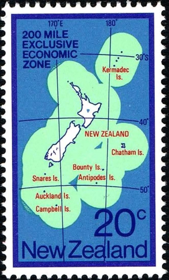 L'île Bounty, rattachée à la Nouvelle-Zélande.