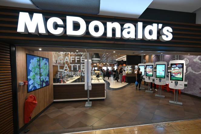 Un restaurant McDonald's, à Strasbourg, en septembre 2019.