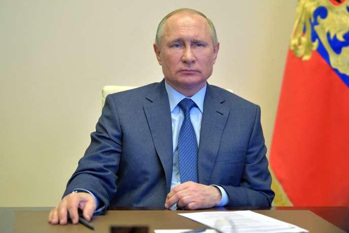 Vladimir Poutine le 20 avril à Moscou.