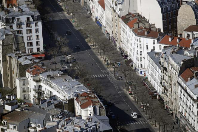 La baisse de l'activité économique a entraîné une diminution des émissions de gaz à effet de serre de 30% en France.