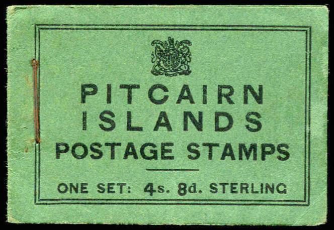 Rare carnet de timbres de Pitcairn (1940) coté 3250 livres sterling.