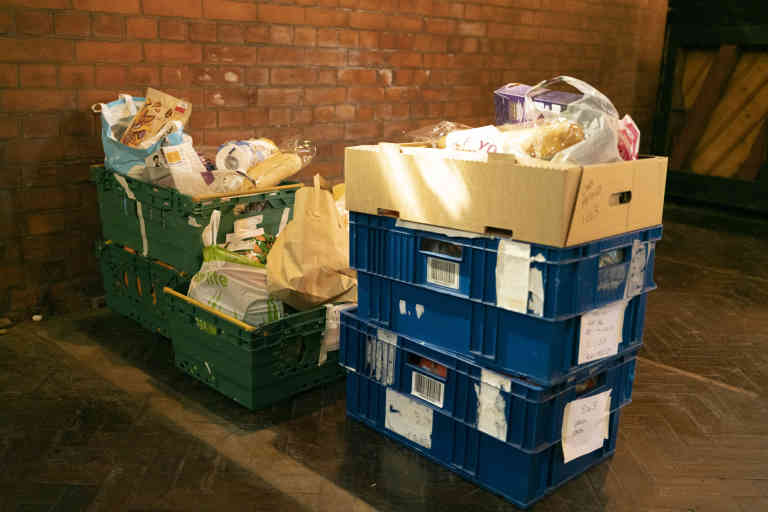 Food orders ready to be dropped. Norwood and Brixton Foodbank, London, United Kingdom, 20/04/2020