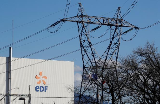 L'usine d'électricité de Fessenheim, dans le Haut-Rhin, en février 2020.