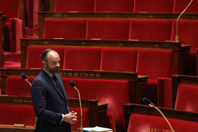 Edouard Philippe, à l'Assemblée nationale, le 14avril.
