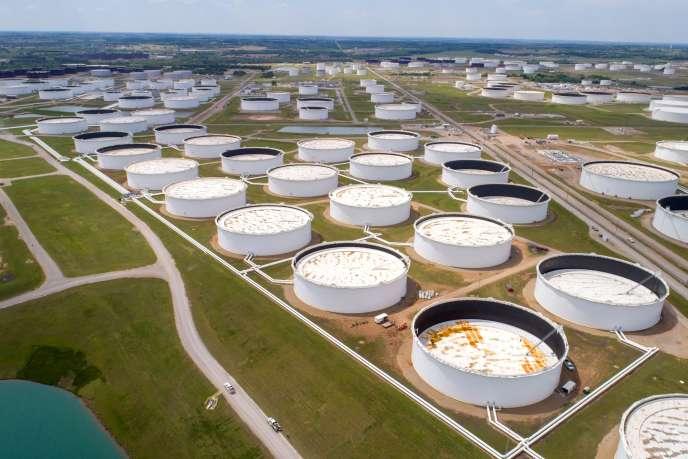 Site de stockage de pétrole à Cushing (Oklahoma), le 21 avril.