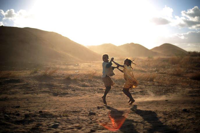 Près de la ville d'Ilakaka, dans le sud-ouest de Madagascar, en 2008.