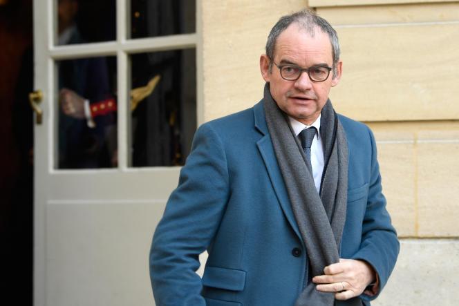 Patrick Jeantet, à l'époque dirigeant de SNCF Réseau, en février 2018, à Paris.